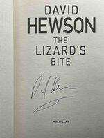 THE LIZARD'S BITE. by Hewson, David.