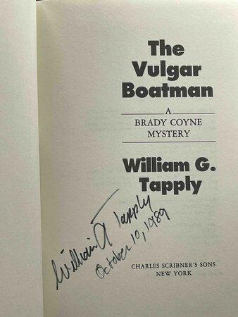 THE VULGAR BOATMAN. by Tapply, William G.