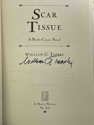 SCAR TISSUE: A Brady Coyne Novel. by Tapply, William G.