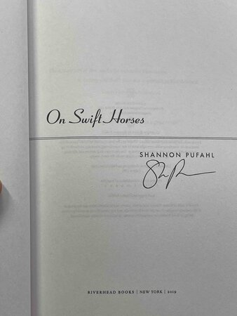 ON SWIFT HORSES. by Pufahl, Shannon.