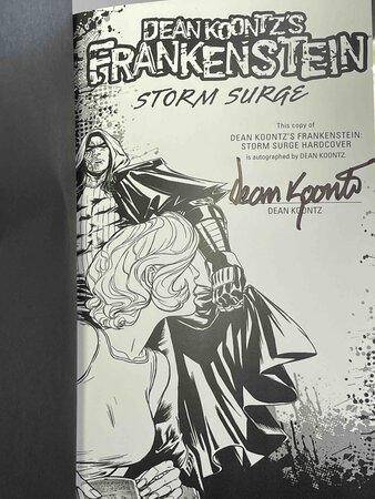 Dean Koontz's FRANKENSTEIN: STORM SURGE. by Koontz, Dean; Chuck Dixon and Rik Hoskin.