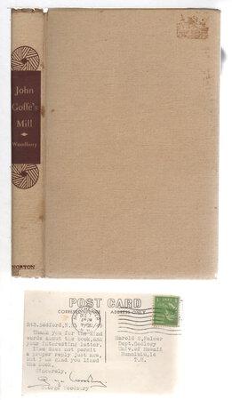 JOHN GOFFE'S MILL. by Woodbury, George.