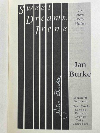 SWEET DREAMS, IRENE. by Burke, Jan.