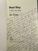 DEAD SKIP. by Gores, Joe.