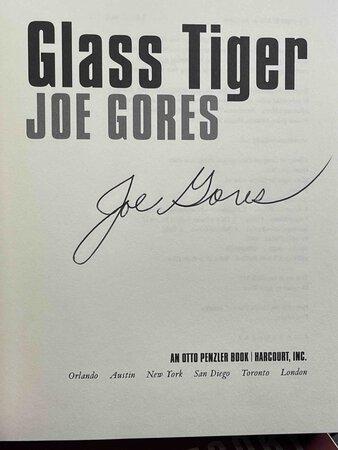 GLASS TIGER. by Gores, Joe.