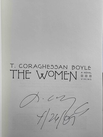 THE WOMEN. by Boyle, T. Coraghesson (T.C).