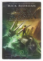 LIGHTNING THIEF: Percy Jackson and the Olympians, Book 1. by Riordan, Rick
