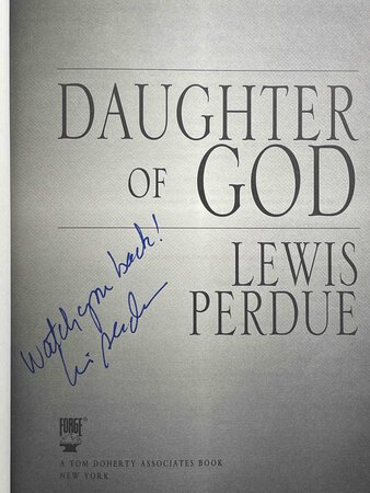 DAUGHTER OF GOD. by Perdue, Louis.