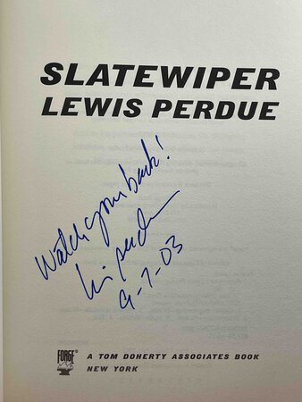 SLATEWIPER. by Perdue, Louis.