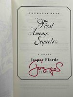 Thursday Next In FIRST AMONG SEQUELS. by Fforde, Jasper.
