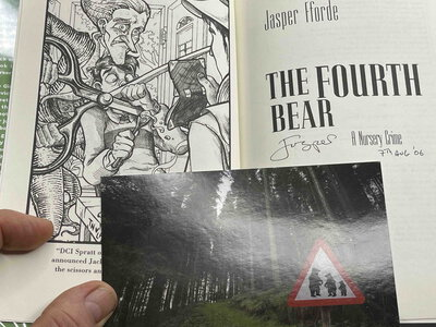 THE FOURTH BEAR: An Investigation with the Nursery Crime Division. by Fforde, Jasper.