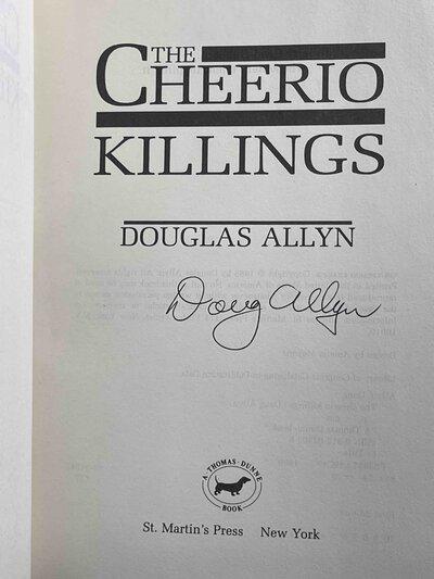 THE CHEERIO KILLINGS. by Allyn, Doug.