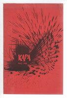 KAPA, Fall 1969. by Pang, Carolyn, editor.