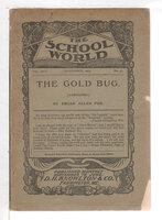 THE GOLD BUG (Abridged), Volume XXIV, Number 46. November 1904. by Poe, Edgar Allen.