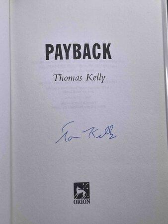 PAYBACK. by Kelly, Thomas.