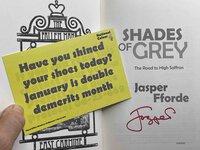 SHADES OF GREY: 1. The Road to High Saffron. by Fforde, Jasper.
