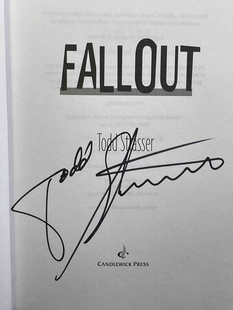 FALLOUT. by Strasser, Todd