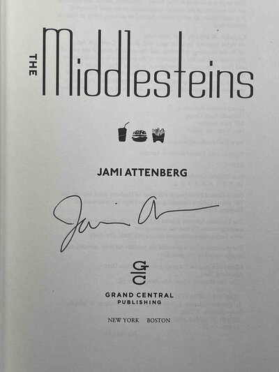 THE MIDDLESTEINS. by Attenberg, Jami.