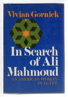 IN SEARCH OF ALI MAHMOUD: An American Woman in Egypt. by Gornick, Vivian.