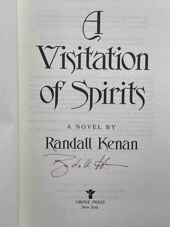A VISITATION OF SPIRITS by Kenan, Randall