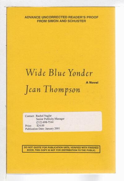 WIDE BLUE YONDER. by Thompson, Jean.