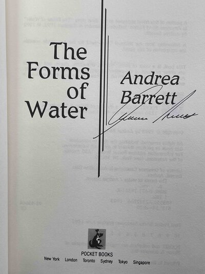 THE FORMS OF WATER. by Barrett, Andrea