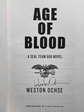 AGE OF BLOOD: SEAL TEAM 666. by Ochse, Weston.