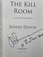 THE KILL ROOM: A Lincoln Rhyme Novel. by Deaver, Jeffrery.