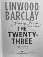 THE TWENTY-THREE: A Promise Falls Novel. by Barclay, Linwood.
