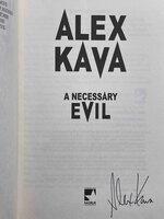 A NECESSARY EVIL. by Kava, Alex.
