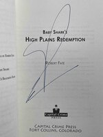 BABY SHARK'S HIGH PLAINS REDEMPTION. by Fate, Robert.