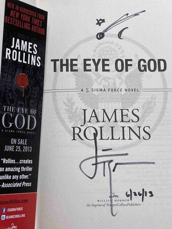 EYE OF GOD: A Sigma Force Novel. by Rollins, James.