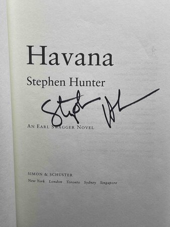 HAVANA: An Earl Swagger Novel. by Hunter, Stephen.