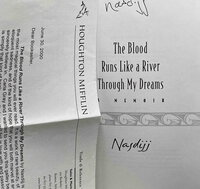 THE BLOOD RUNS LIKE A RIVER THROUGH MY DREAMS: A Memoir. by Nasdijj.
