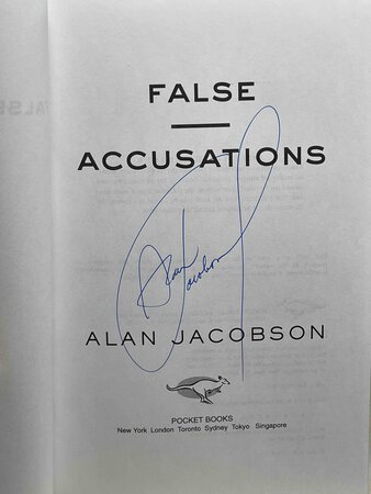 FALSE ACCUSATIONS. by Jacobson, Alan.