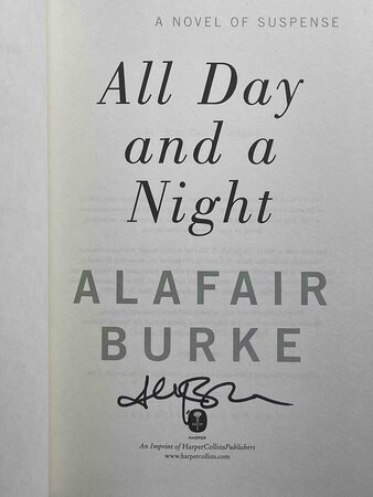 ALL DAY AND A NIGHT. by Burke, Alafair.