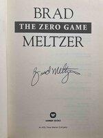 THE ZERO GAME. by Meltzer, Brad.