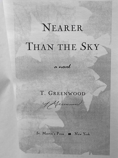 NEARER THAN THE SKY. by Greenwood, T.