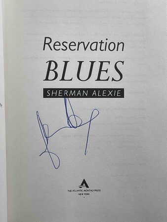 RESERVATION BLUES. by Alexie, Sherman.