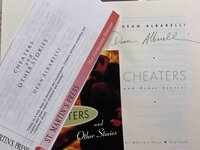 CHEATERS and Other Stories. by Albarelli, Dean.