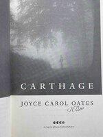 CARTHAGE. by Oates, Joyce Carol.