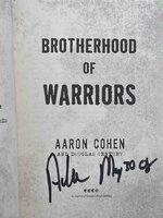 BROTHERHOOD OF WARRIORS: Behind Enemy Lines with a Commando in One of the World's Most Elite Counterterrorism Units. by Cohen, Aaron and Douglas Century.