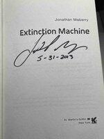 EXTINCTION MACHINE. by Maberry, Jonathan