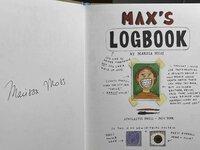 MAX'S LOGBOOK. by Moss, Marissa.