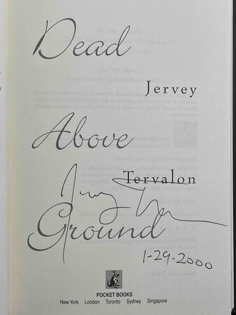 DEAD ABOVE GROUND. by Tervalon, Jerry