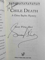 CHILE DEATH. by Albert, Susan Wittig