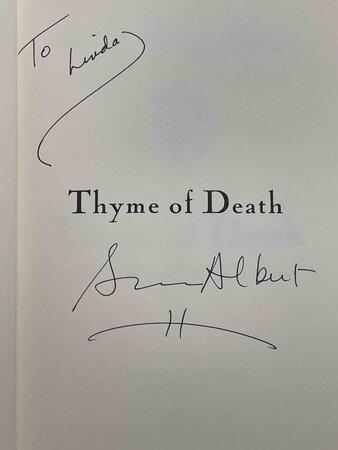 THYME OF DEATH by Albert, Susan Wittig