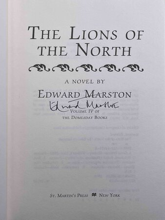 THE LIONS OF THE NORTH. by Marston, Edward (pseudonym of Keith Miles)