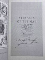 SERVANTS OF THE MAP. by Barrett, Andrea.