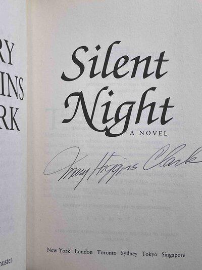 SILENT NIGHT. by Clark, Mary Higgins.